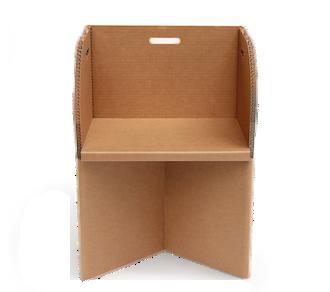 Bürostuhl aus Karton