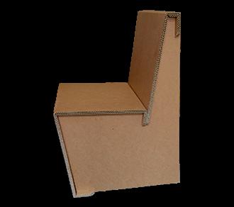 Konferenzstuhl aus Karton