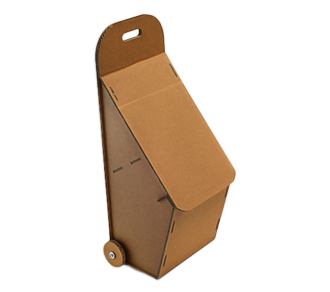 Trolley aus Karton