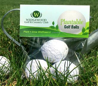 Seed Bombs - pflanzbare Golfbälle
