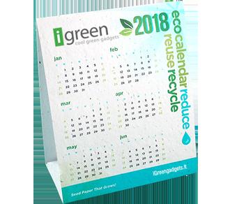 Pflanzbare Tischkalender