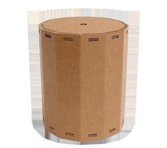 zylindrischer Hocker aus Karton